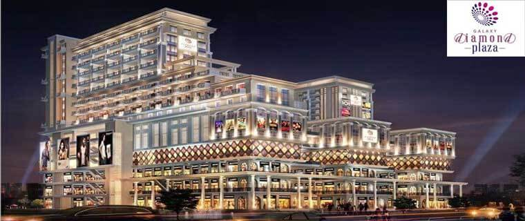 Galaxy diamond plaza commercial shops