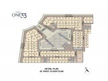 First Floor Plan paras one33 Noida