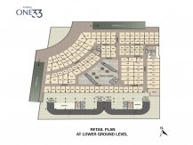 Lower Ground Floor Plan paras one33 Noida