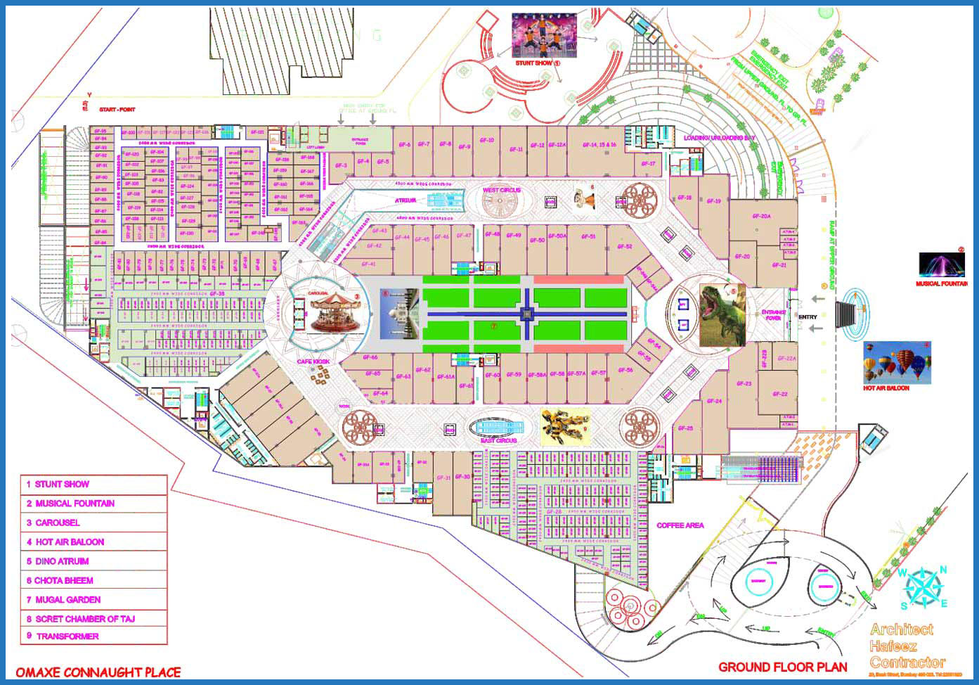 Omaxe Connaught Place Mall In Greater Noida Shops And