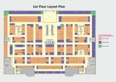 First floor plan x mall noida