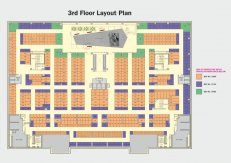 Third floor plan x mall noida