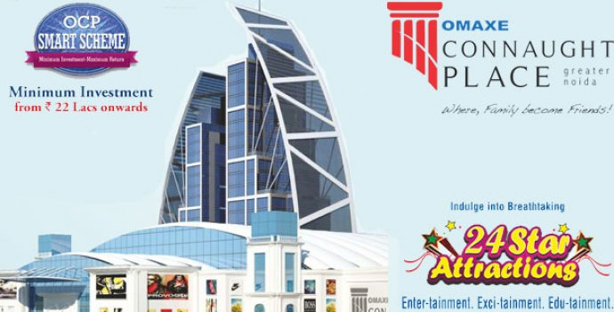 Omaxe Connaught place mall greater noida