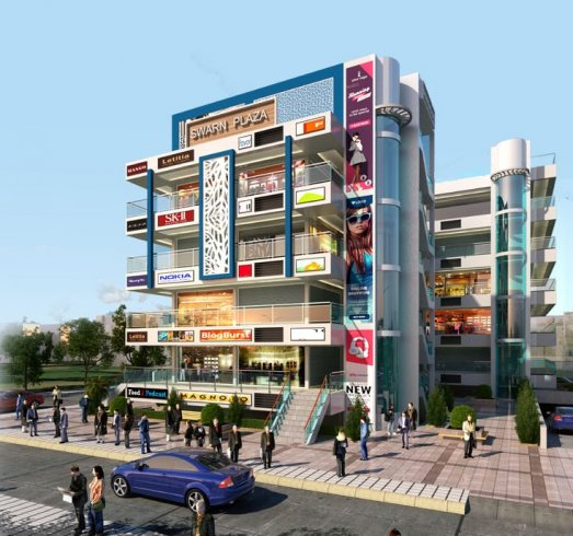 Swarn Plaza shopping plaza