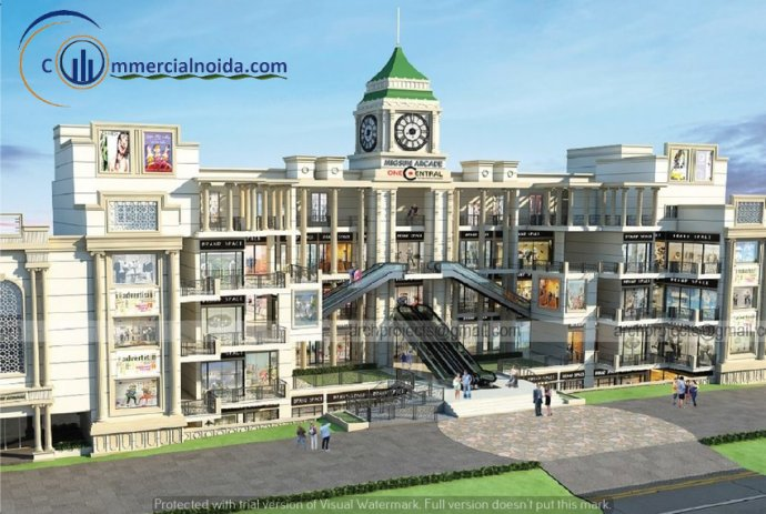 Migsun one central commercial project raj nagar extension