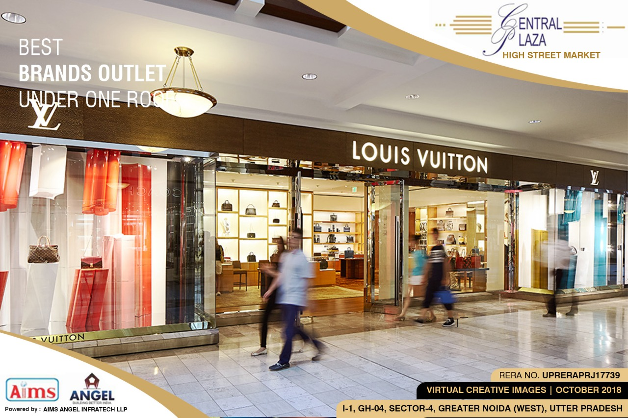 CENTRAL PLAZA - High Street retail shops in noida extension